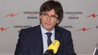 """Carles Puigdemont, aquest dijous a """"El matí de Catalunya Ràdio"""""""