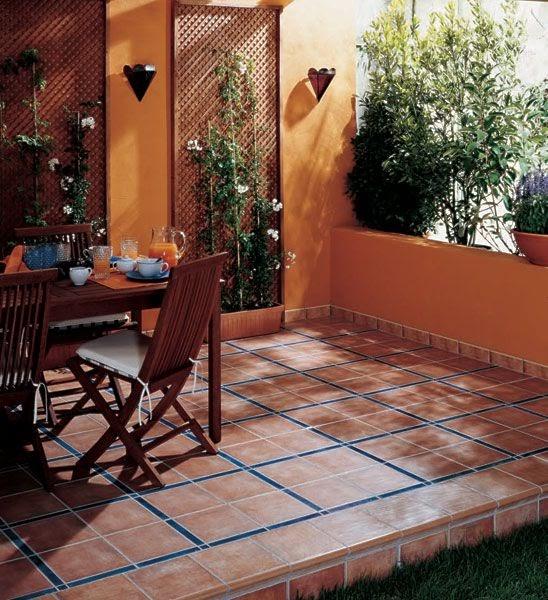 Decoracion mueble sofa pavimentos rusticos exteriores - Pavimentos ceramicos interiores ...
