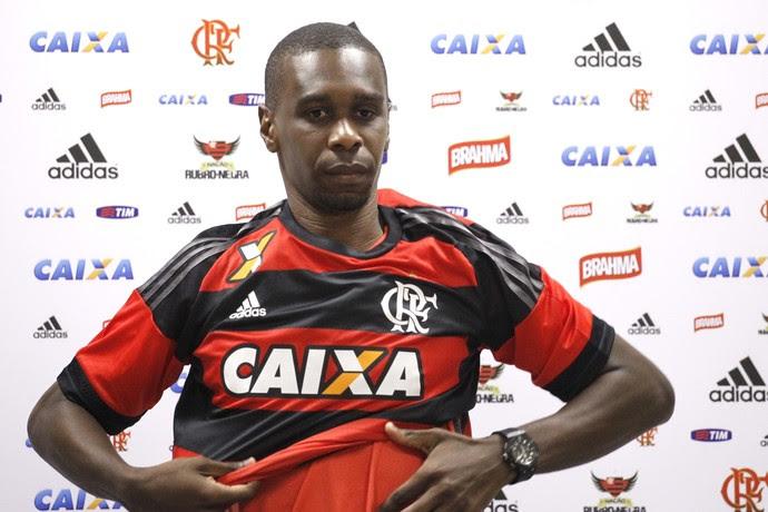 juan, flamengo, apresentação (Foto: Gilvan de Souza/Flamengo)