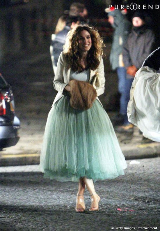 Fusta tulle Carrie Bradshaw