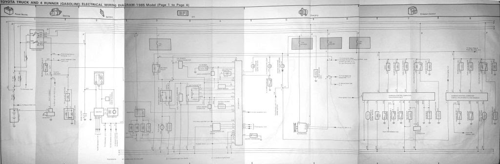 1981 Toyota Pickup Wiring Diagram
