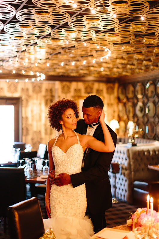 Old Hollywood-inspired Styled Shoot at the Barrymore | Marie and Michael Photography » Little Vegas Wedding