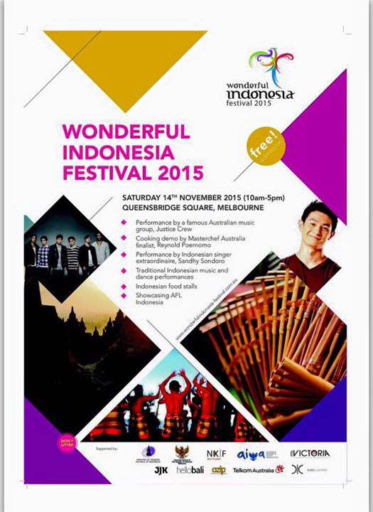 Celebrate Indonesian Culture at Wonderful Indonesia Festival 2015 in Melbourne – Hello Asia!