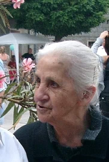 Décès Lucchini Angèle née Benedetti