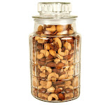 Gourmet Mixed Nut Decorative Jar, 36 oz