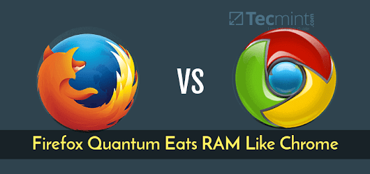 Firefox Quantum Eats RAM Like Chrome