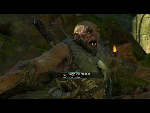 Flogg the Moaner. I've killed this loser four times, shamed him, attempted to brand him and killed his blood brother but he keeps coming back with his god damn moaning. • r/shadowofmordor