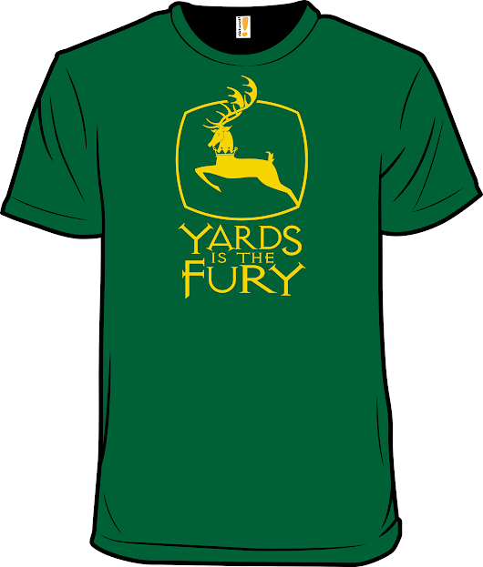 Yards is the Fury