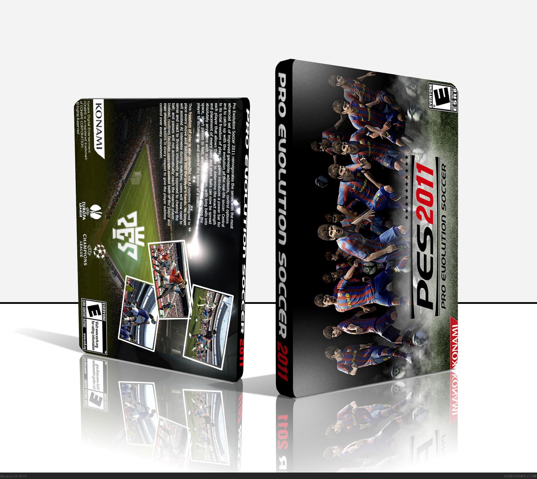Serial number Pro Evolution Soccer 2011 yang wajib diketahui