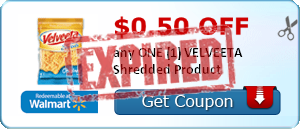 $0.50 off any ONE (1) VELVEETA Shredded Product
