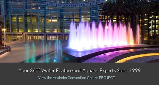Water Feature Design Build | Commercial Pool Contractor | California Waters