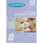 Lansinoh Nursing Pads, Stay Dry - 60 pads