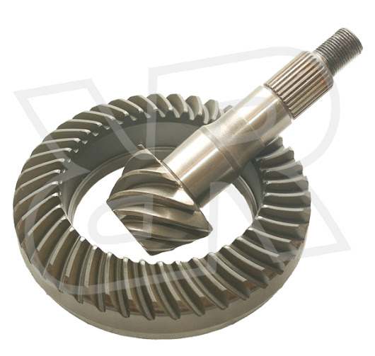 Nissan Titan Ring and Pinion Gears by Rugged Rocks, 2004+ Front M205, 4.10