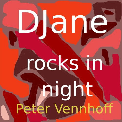DJane rocks in night by Peter Vennhoff