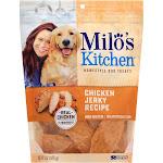 Milos Kitchen Dog Treats, Home-Style, Chicken Jerky Recipe - 15 oz