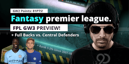 Full Backs or Central Defenders? Mendy Alonso - FPL GW3 Tips | Upper 90 Studios | Fantasy Premier League Tips and Cheats