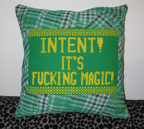 intent pillow