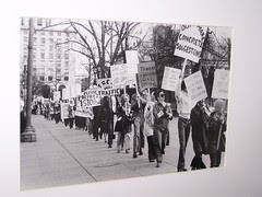 Protest against I-66, in Washington DC