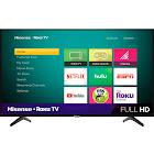 """Hisense - 40"""" Class - LED - H4F Series - 1080p - Smart - HDTV Roku TV, Black"""