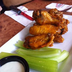 Buffalo Wings @ Thank God It's Friday