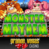 Grande Vegas Casino Launches Monster Mayhem Slot Machine in Midst of Halloween Madness Cash Back Casino Bonuses
