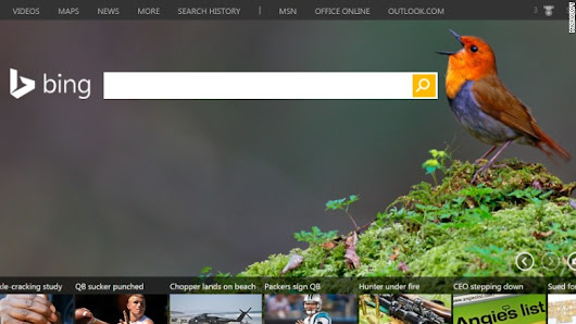 Image: Bing adds $1 billion to Microsoft's revenue - Oct. 23, 2015