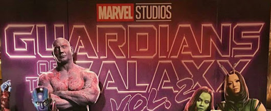 Awesome New GUARDIANS OF THE GALAXY Vol. 2 Theater Standee Leaves A Place Free On The Team For... You!