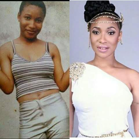 Nigerian Celebrities Who Were Living Hand To Mouth Before They Made Money - (photos)