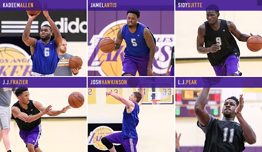Lakers Draft Workouts: May 23, 2017 | Los Angeles Lakers