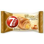 7 Days Caramel Filling Soft Croissant, 2.65 Ounce - 24 per case.