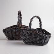 Brown Rectangular Jamie Baskets