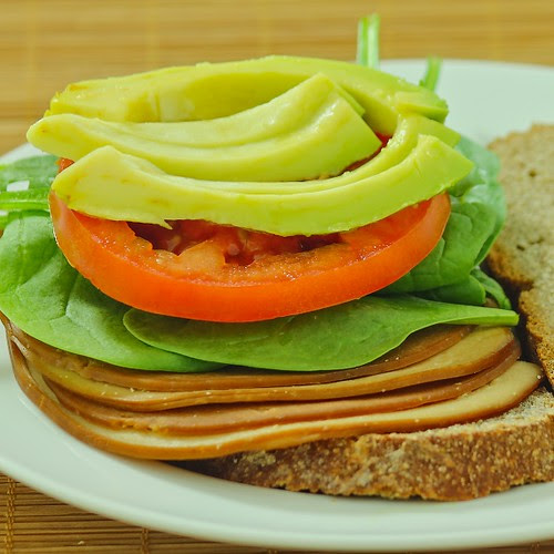 Avocado Tofurkey Sandwich