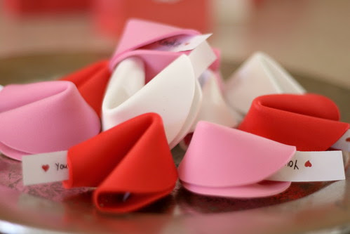 Bunches And Bits Fortune Cookie Class Valentines