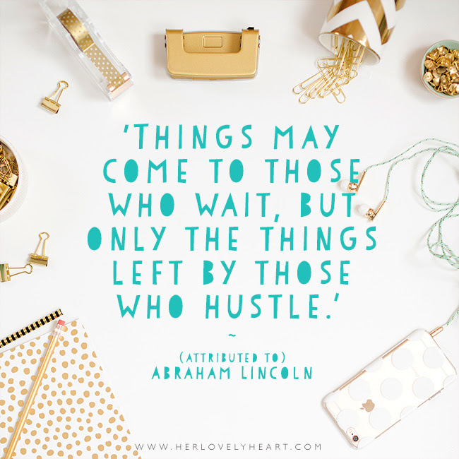 Hustle Her Lovely Heart Instaquotes