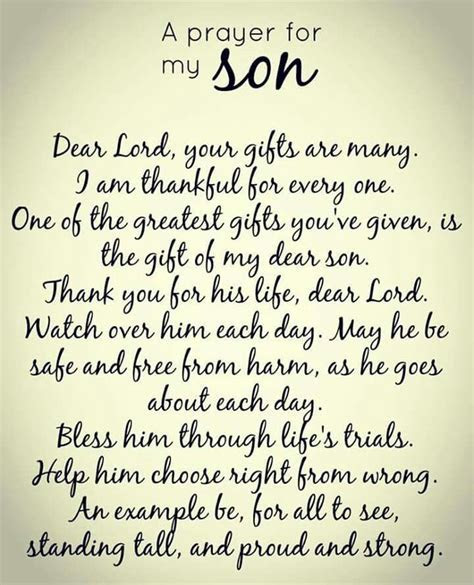 Best 25  Prayer for my son ideas on Pinterest   Prayer for