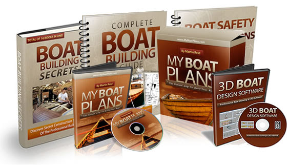 500 wooden boat building plans