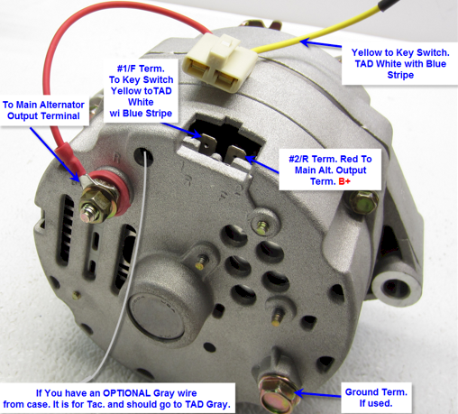 Acdelco Marine Alternator Wiring Diagram