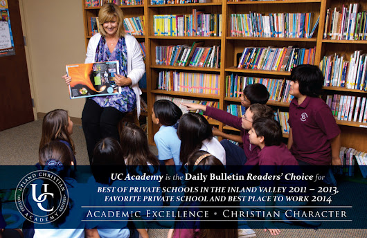 Upland Christian Academy - Daily Bulletin Readers Choice