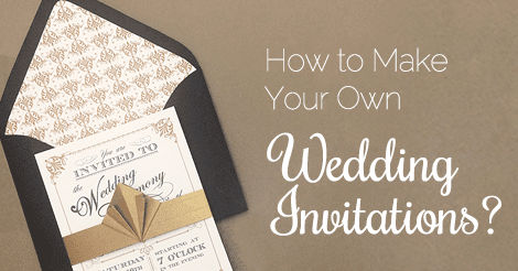 How to Make Your Own Wedding Invitations - AmoyShare