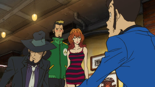 Lupin the Third PART4 02 Review (Japan's version of Lovejoy.) - AstroNerdBoy's Anime & Manga Blog