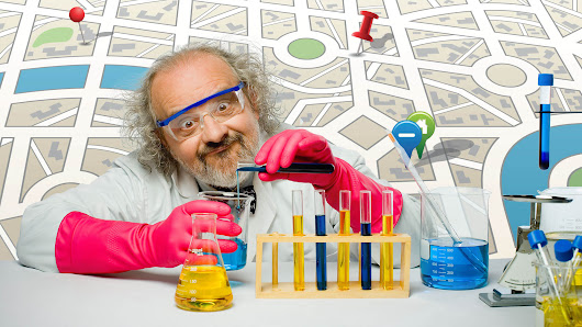 Be a mad scientist to be more successful in local SEO