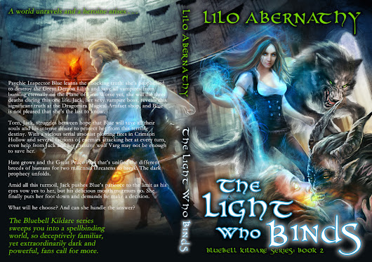 Lilo Abernathy -   The Light Who Binds: Print and Audio Release!