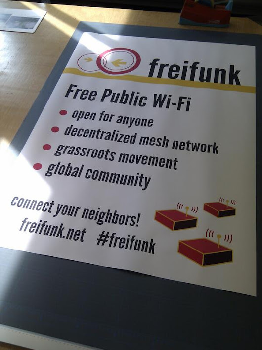 Twitter / nomaster: #freifunk poster is ready. ...