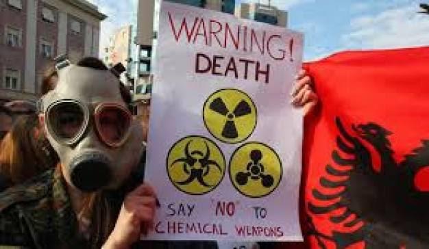 """Κρήτη: Κινητοποίηση για τα χημικά με """"σιωπή"""" από τα ΜΜΕ"""