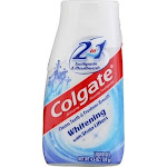 Colgate 2-in-1 Whitening Toothpaste, Mint, 4.6 oz