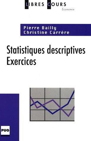 Télécharger STATISTIQUES DESCRIPTIVES - EXERCICES (LIBRES ...