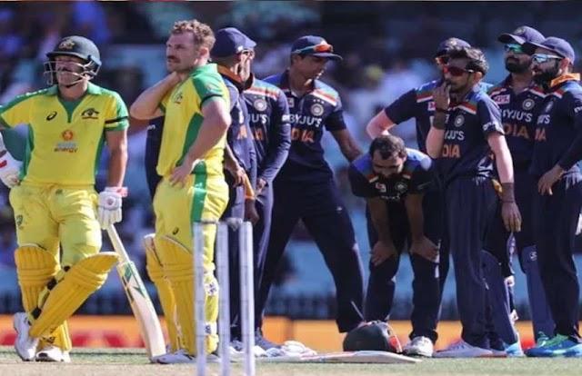 सिडनी वनडे : आस्ट्रेलियाई बल्लेबाजों के सामने फिर बेबस दिखे भारतीय गेंदबाज, 55 रनों से हारा भारत