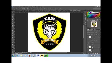 membuat desain logo club motor  youtube