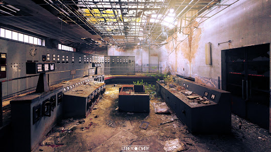 Photo of the Day: Abandoned Factory by Urbex Diary