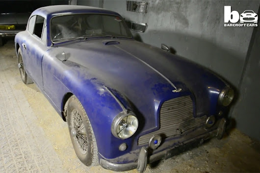 Aston Martin DB2/4 Barn Find Unearthed After 50 Years